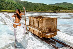 Salt Workers Break